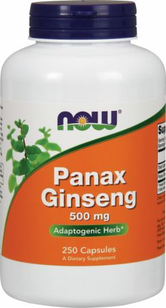 NOW, Panax Ginseng, 250 капсул