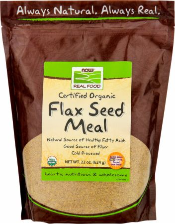 NOW, Flax Seed Meal, 650 мл
