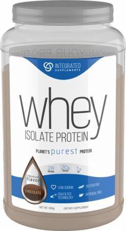 Integrated Supplements, Whey Protein Isolate, 908 грамм