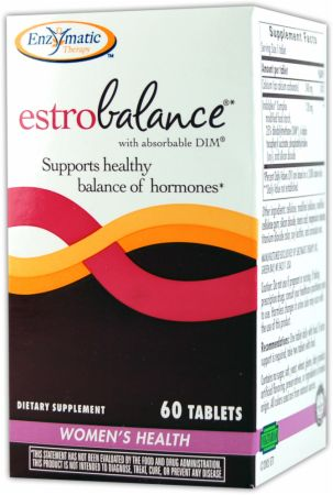 Enzymatic Therapy, EstroBalance, 60 таблеток
