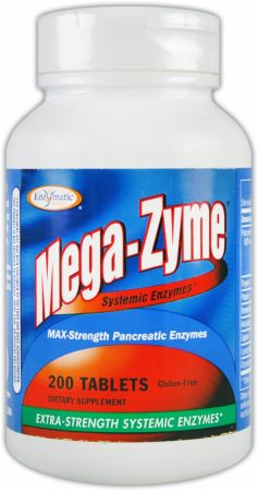 Enzymatic Therapy, Mega-Zyme, 200 таблеток