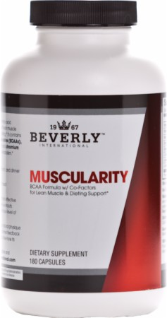 Beverly International, Muscularity, 180 капсул