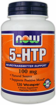 NOW, 5-HTP, 100мг/120 капсул