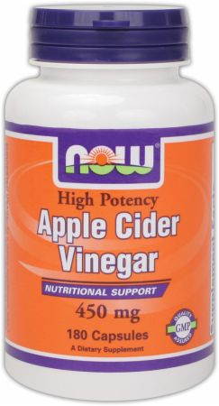 NOW, Apple Cider Vinegar, 180 капсул