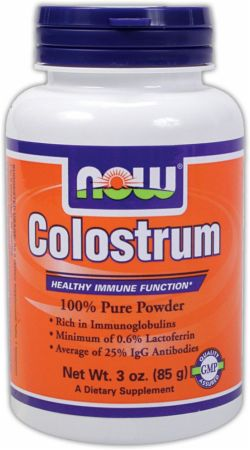 NOW, Colostrum, 500мг/120 капсул