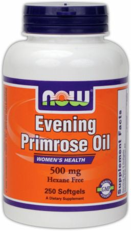 NOW, Evening Primrose Oil, 500мг/100 капсул