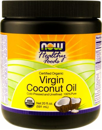 NOW, Organic Virgin Coconut Oil, 591 мл