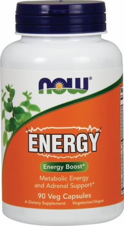 NOW, Energy, 90 капсул
