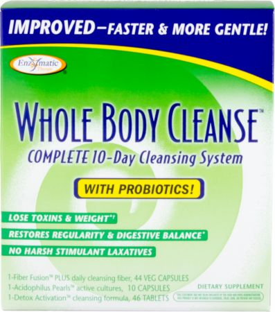 Enzymatic Therapy, Whole Body Cleanse, 44 капсулы