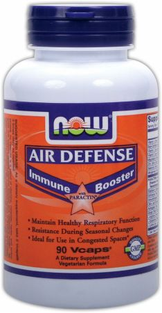 NOW, Air Defense Immune Booster, 90 капсул