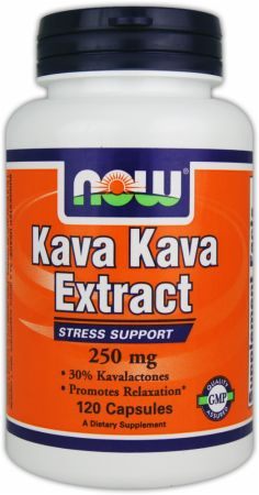 NOW, Kava Kava Extract, 120 капсул