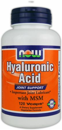 NOW, Hyaluronic Acid, 120 капсул