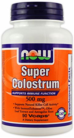 NOW, Super Colostrum, 90 капсул