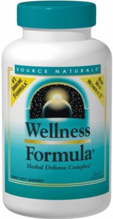 Source Naturals, Wellness Formula Tabs, 180 таблеток