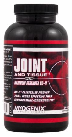 Myogenix, JOINT and TISSUE, 240 капсул