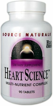 Source Naturals, Heart Science, 90 таблеток