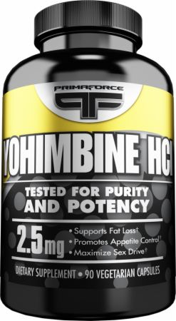 PrimaForce, Yohimbine HCl, 90 капсул