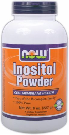 NOW, Inositol Powder, 227 грамм