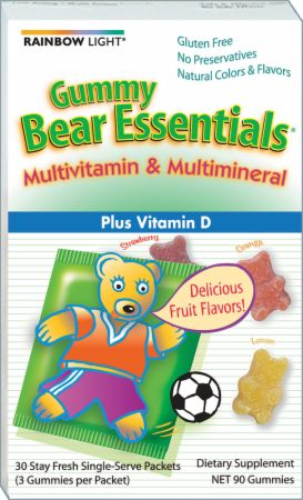 Rainbow Light, Gummy Bear Essentials, 30 упаковок