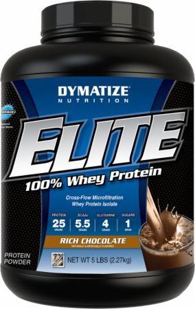 Dymatize, Elite Whey Protein Isolate, 4536 грамм