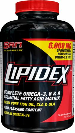 S.A.N., Lipidex, 180 капсул
