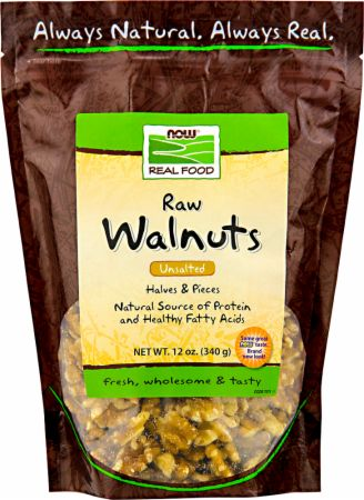 NOW, Walnuts, 340 грамм