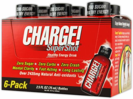 Labrada, Charge! SuperShot, 6 шт по 74 мл