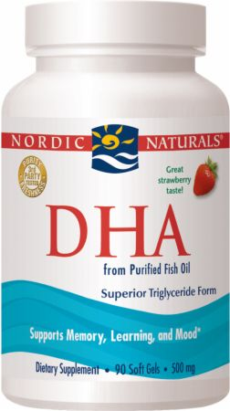Nordic Naturals, DHA, 90 капсул