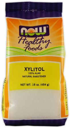 NOW, Xylitol, 454 грамма