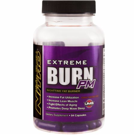 John Scott's Nitro, Burn Extreme PM, 84 капсулы