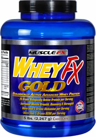 Muscle FX, Whey FX Gold, 2268 грамм