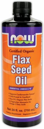 NOW, High Lignan Flax Seed Oil, 355 мл