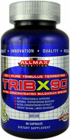AllMax Nutrition, TribX 90, 90 капсул
