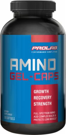 Prolab, Amino GEL-CAPS, 200 капсул