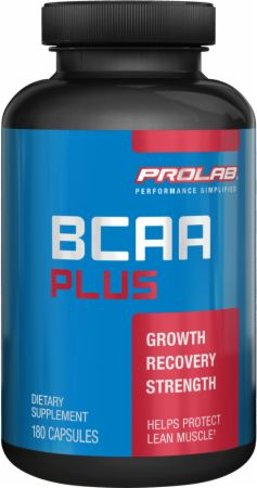 Prolab, BCAA PLUS, 180 капсул