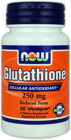 NOW, Glutathione, 250мг/60 капсул