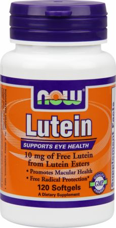 NOW, Lutein Esters, 10мг/120 капсул