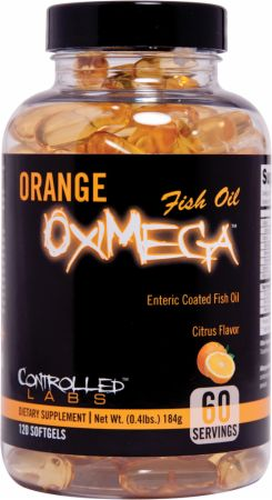 Controlled Labs, Orange OxiMega Fish Oil, 120 капсул