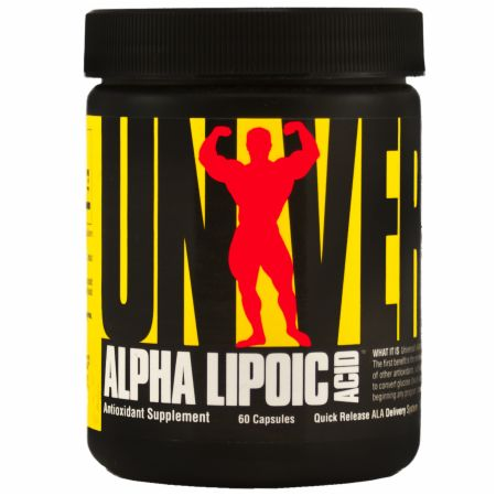 Universal Nutrition, Alpha Lipoic Acid, 100мг/60 капсул