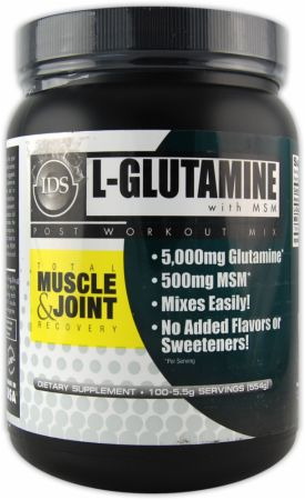 New Whey Nutrition, L-Glutamine With MSM, 554 грамма