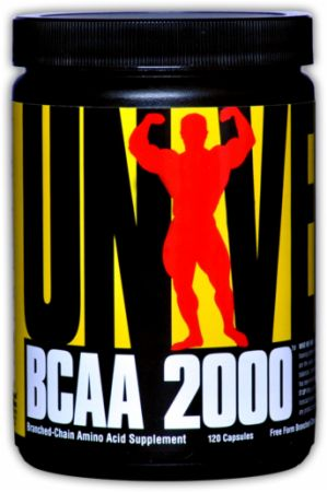 Universal Nutrition, BCAA 2000, 120 капсул