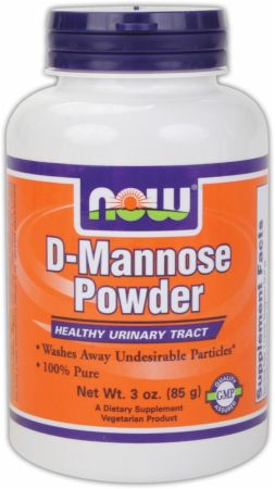 NOW, D-Mannose Powder, 85 грамм