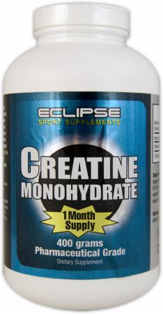 Eclipse 2000, Creatine Monohydrate, 400 грамм