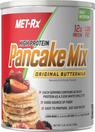 Met-Rx, High Protein Pancake Mix, 908 грамм