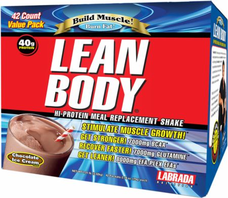 Labrada, Lean Body Packets, 20 упаковок