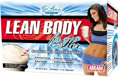 Labrada, Lean Body For Her, 20 упаковок