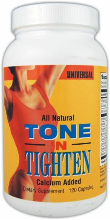 Universal Nutrition, Tone And Tighten Fat Burner, 120 капсул