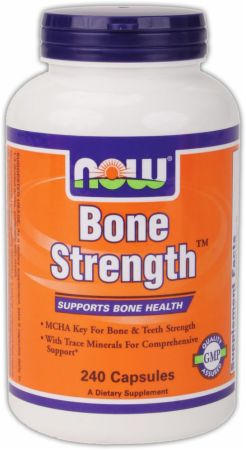 NOW, Bone Strength, 240 капсул