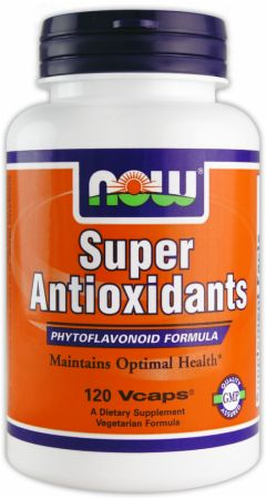 NOW, Super Antioxidants, 120 капсул