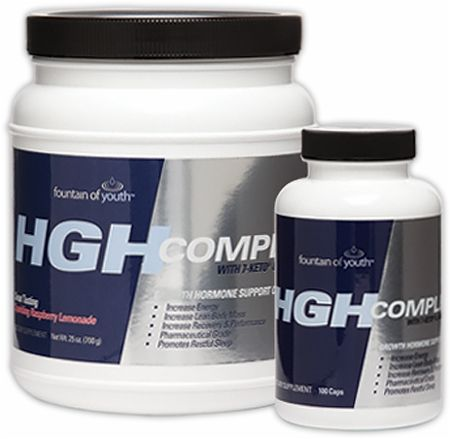 Fountain Of Youth, HGH Complete, 700гр
